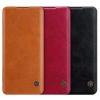 کیف محافظ چرمی نیلکین هواوی Nillkin Qin Case For Huawei P40 Pro