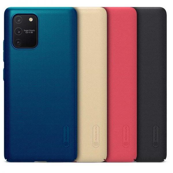 قاب محافظ نیلکین سامسونگ Nillkin Super Frosted Shield Case Samsung Galaxy S10 Lite 2020