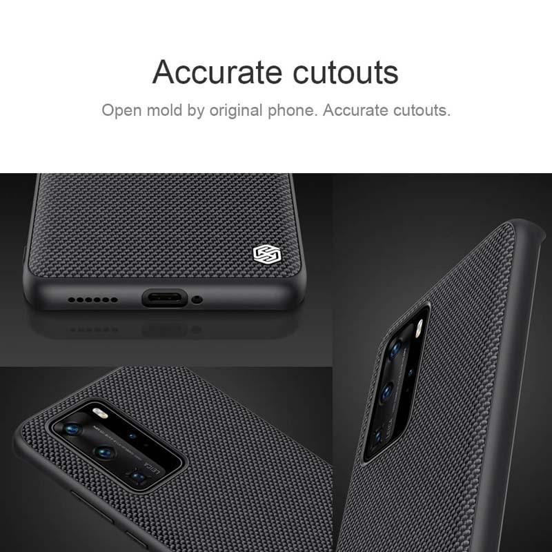 قاب محافظ نیلکین هواوی Nillkin Textured nylon fiber Case Huawei P40 Pro