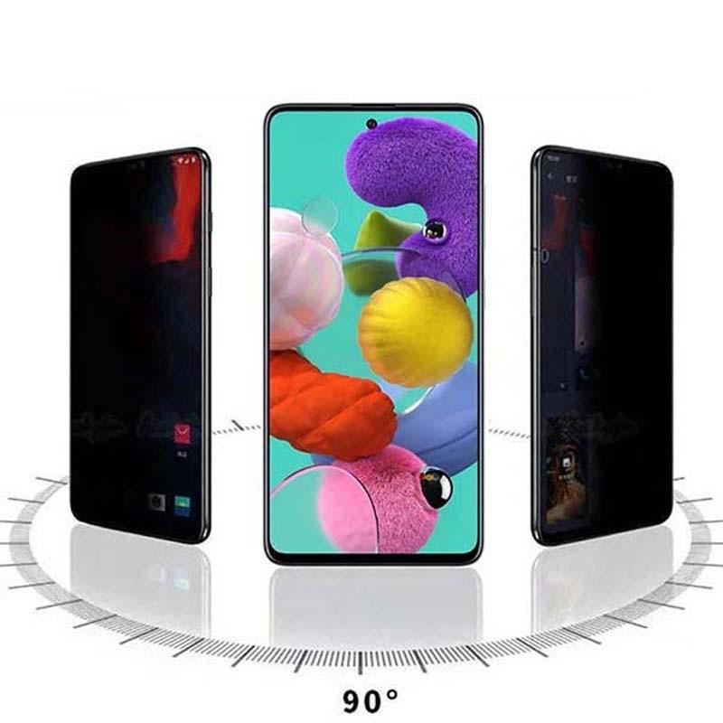 محافظ صفحه نمایش حریم شخصی تمام چسب با پوشش کامل سامسونگ Privacy Full Screen Protector For Samsung Galaxy A71