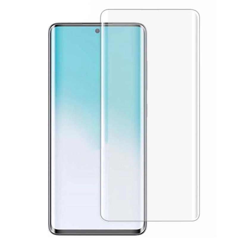 محافظ صفحه شیشه ای تمام صفحه و خمیده یو وی سامسونگ UV Full Glass Screen Protector Samsung Galaxy S20