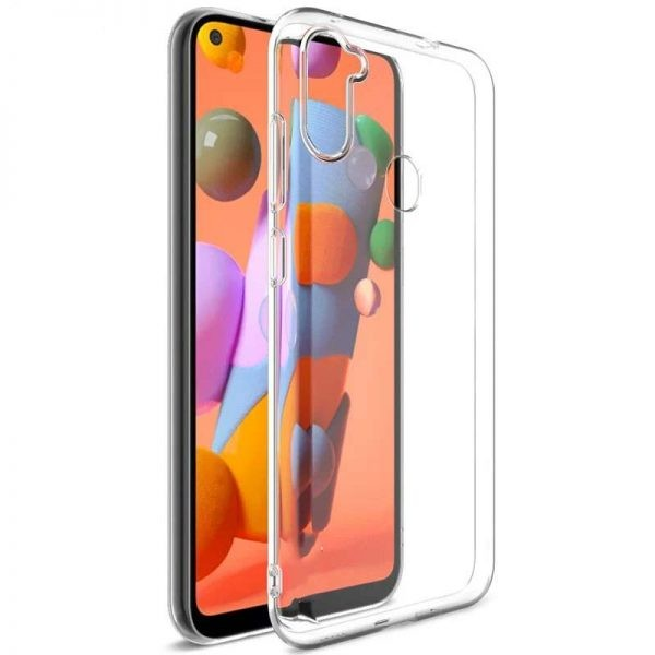 قاب محافظ ژله ای 5 گرمی کوکو سامسونگ Coco Clear Jelly Case For Samsung Galaxy A11