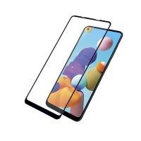 محافظ صفحه نمایش تمام چسب با پوشش کامل سامسونگ Full Glass Screen Protector For Samsung Galaxy A21