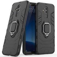 قاب محافظ ضد ضربه انگشتی هواوی Ring Holder Iron Man Armor Case Huawei Mate 20 Lite