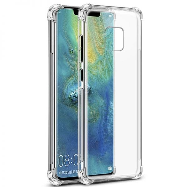 Clear Tpu Air Rubber Jelly Case For Huawei Mate 20 X