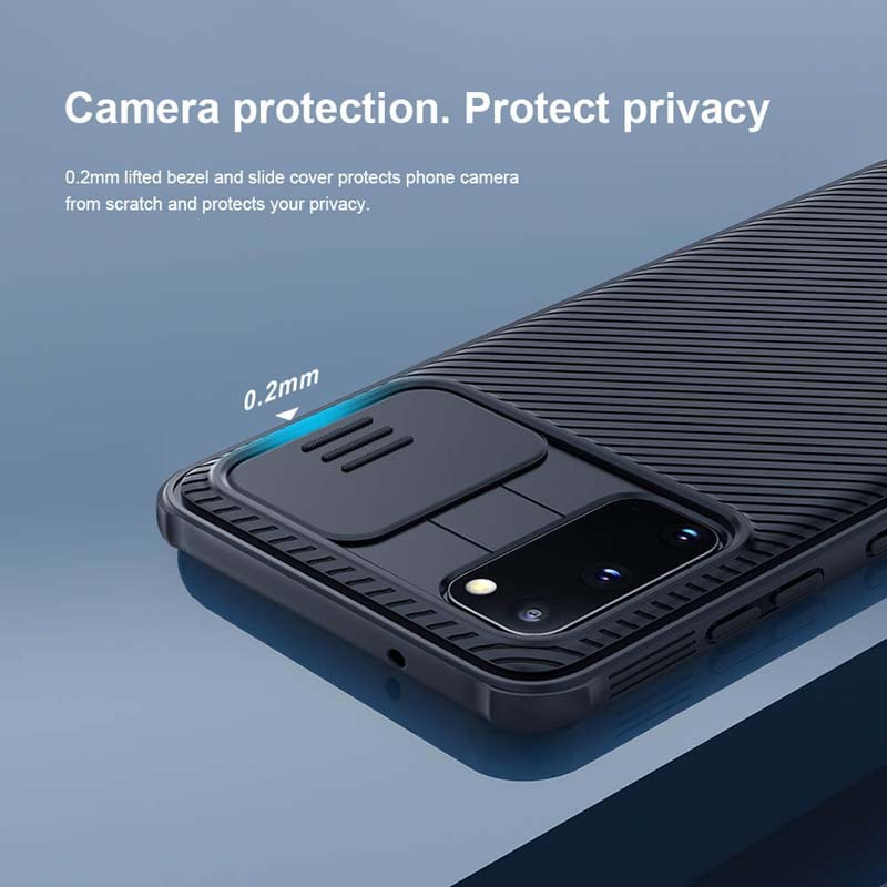 قاب محافظ نیلکین سامسونگ Nillkin CamShield Pro Case for Samsung Galaxy S20
