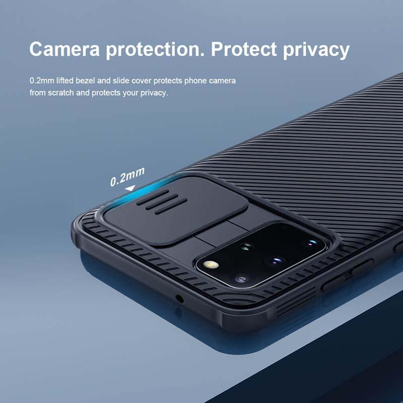 قاب محافظ نیلکین سامسونگ Nillkin CamShield Pro Case for Samsung Galaxy S20 Plus