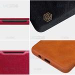 کیف محافظ چرمی نیلکین شیائومی Nillkin Qin Case For Xiaomi Mi Note 10 Lite