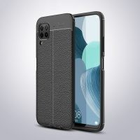 قاب ژله ای طرح چرم هواوی Auto Focus Jelly Case For Huawei P40 Lite / Nova 7i / Nova 6 SE