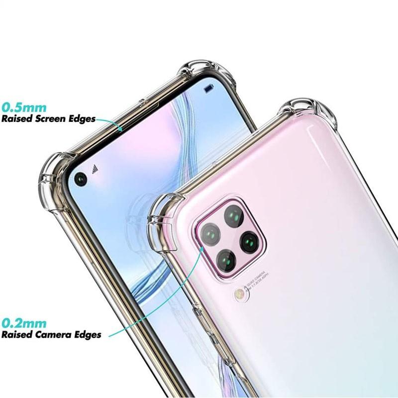 قاب محافظ ژله ای کپسول دار 5 گرمی هواوی Clear Tpu Air Rubber Jelly Case For Huawei P40 Lite / Nova 7i / Nova 6 SE