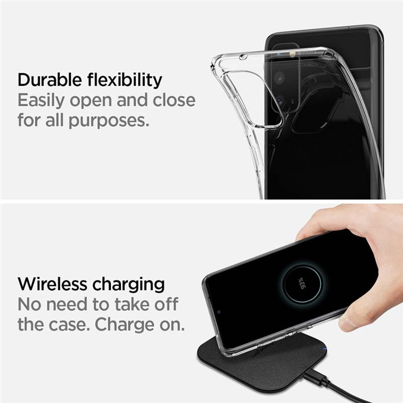 قاب محافظ ژله ای 5 گرمی کوکو سامسونگ Coco Clear Jelly Case For Samsung Galaxy S20