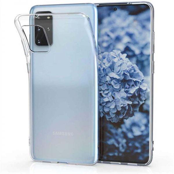 قاب محافظ ژله ای 5 گرمی کوکو سامسونگ Coco Clear Jelly Case For Samsung Galaxy S20 Plus