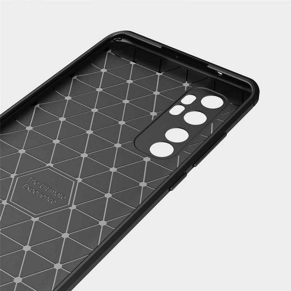 قاب محافظ ژله ای شیائومی Fiber Carbon Rugged Armor Case For Xiaomi Mi Note 10 Lite