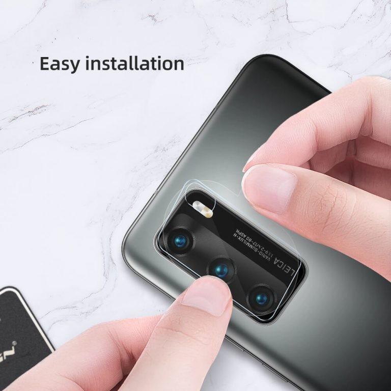 محافظ لنز دوربین نیلکین هواوی Nillkin InvisiFilm camera protector for Huawei P40