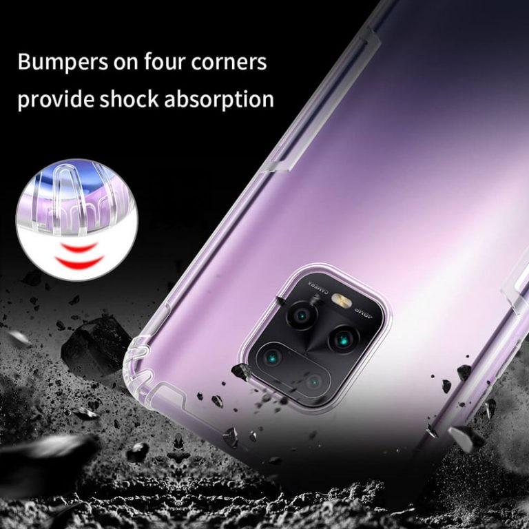 قاب محافظ ژله ای نیلکین شیائومی Nillkin Nature Series TPU case for Xiaomi Redmi 10X 5G / Redmi 10X Pro 5G