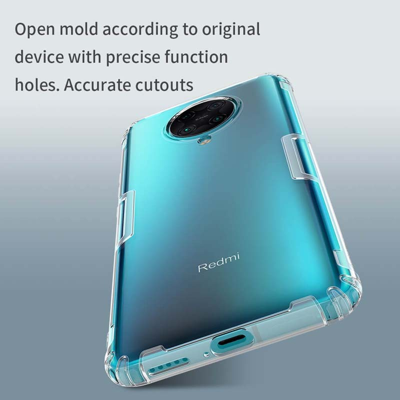 قاب محافظ ژله ای نیلکین شیائومی Nillkin Nature Series TPU case for Xiaomi Redmi K30 Pro Poco F2 Pro