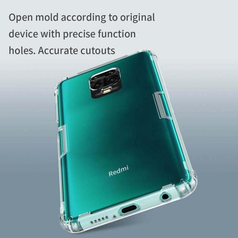 قاب محافظ ژله ای نیلکین شیائومی Nillkin Nature Series TPU case for Xiaomi Redmi Note 9 Pro Note 9 Pro Max Note 9S