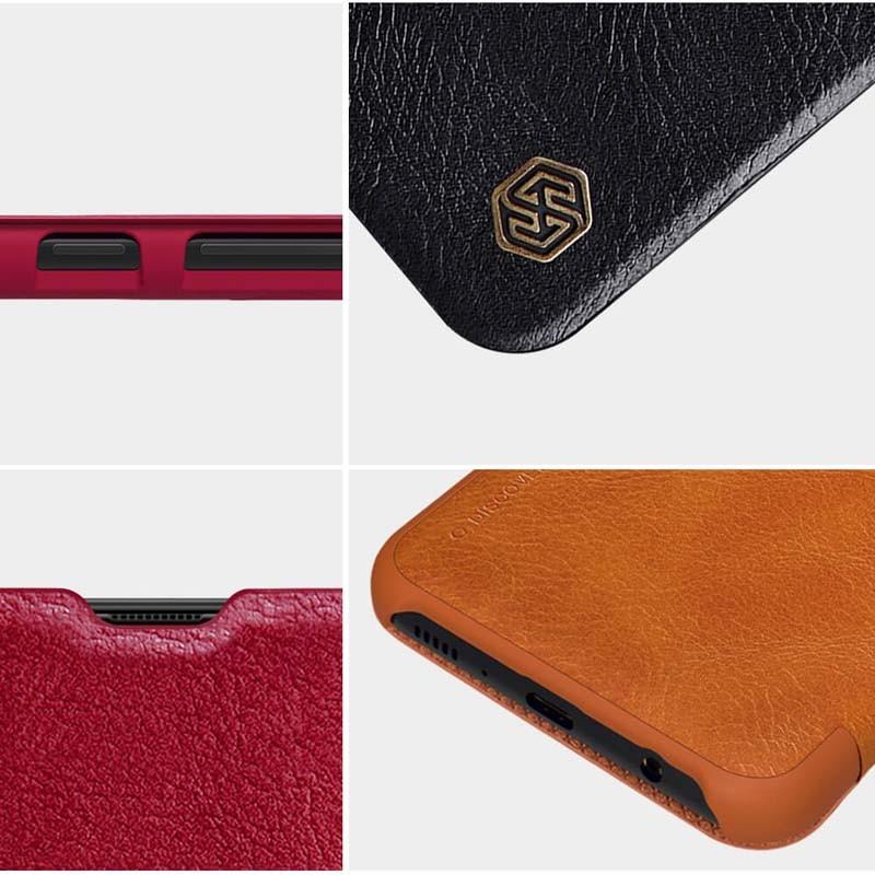 کیف محافظ چرمی نیلکین سامسونگ Nillkin Qin Case For Samsung Galaxy M30s M21