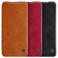 کیف محافظ چرمی نیلکین شیائومی Nillkin Qin Case For Xiaomi Redmi 10X 5G / Redmi 10X Pro 5G