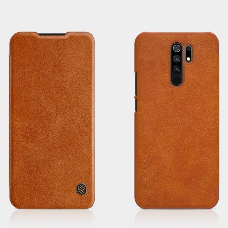 کیف محافظ چرمی نیلکین شیائومی Nillkin Qin Case For Xiaomi Redmi 9