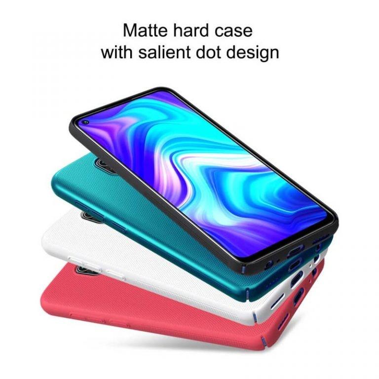 قاب محافظ نیلکین شیائومی Nillkin Super Frosted Shield Case Xiaomi Redmi Note 9 / Redmi 10X 4G