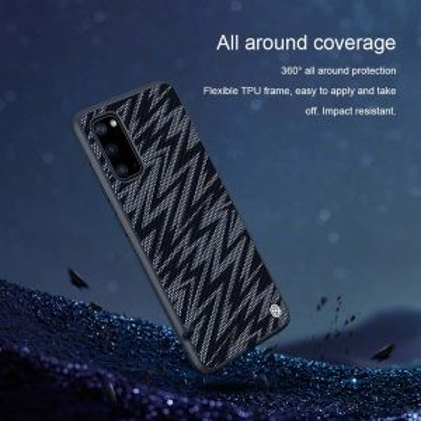 قاب محافظ نیلکین سامسونگ Nillkin Twinkle Case For Samsung Galaxy S20