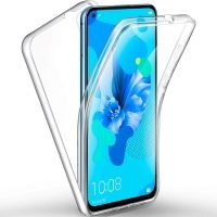 قاب محافظ شفاف 360 درجه هواوی Soft Clear Ultra Thin 360 Degree Case Huawei Nova 5T / Honor 20