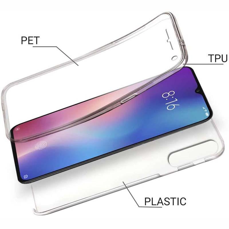 قاب محافظ شفاف 360 درجه شیائومی Soft Clear Ultra Thin 360 Degree Case Xiaomi Mi 9 Lite Mi CC9