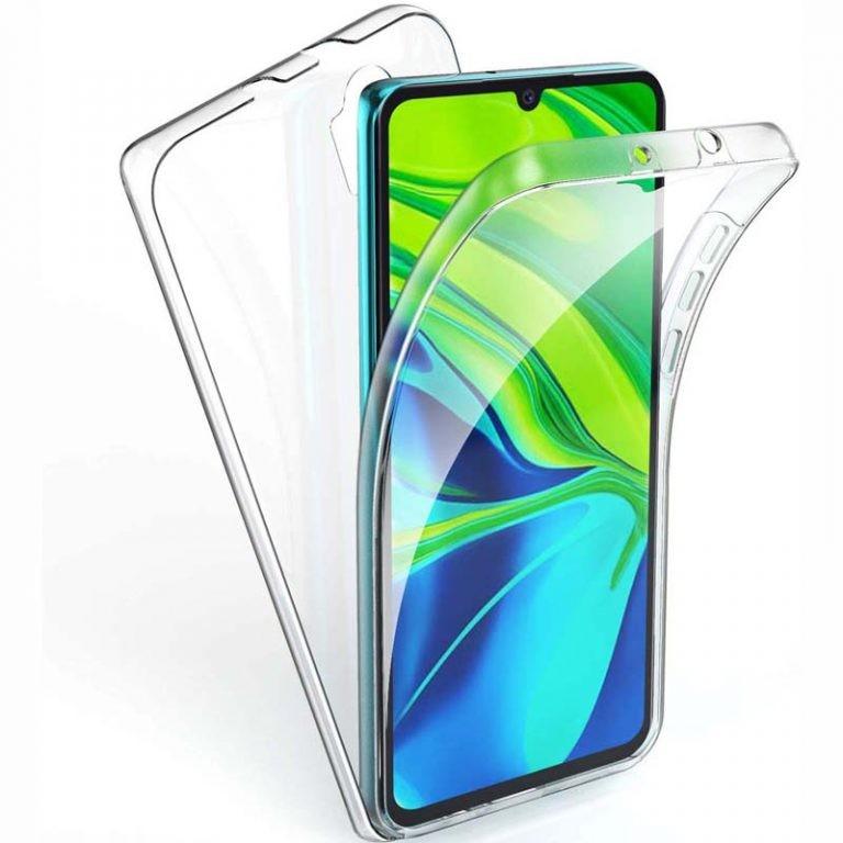 قاب محافظ شفاف 360 درجه شیائومی Soft Clear Ultra Thin 360 Degree Case Xiaomi Mi CC9 Pro Mi Note 10 Mi Note 10 Pro