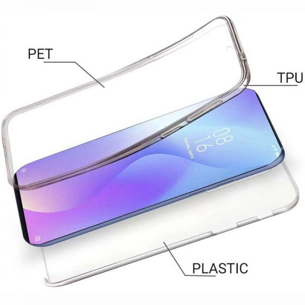 قاب محافظ شفاف 360 درجه شیائومی Soft Clear Ultra Thin 360 Degree Case Xiaomi Redmi K20 K20 Pro Mi 9T Mi 9T Pro