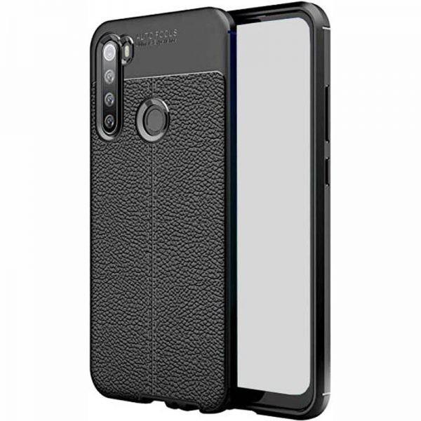 قاب ژله ای طرح چرم سامسونگ Auto Focus Jelly Case For Samsung Galaxy A21
