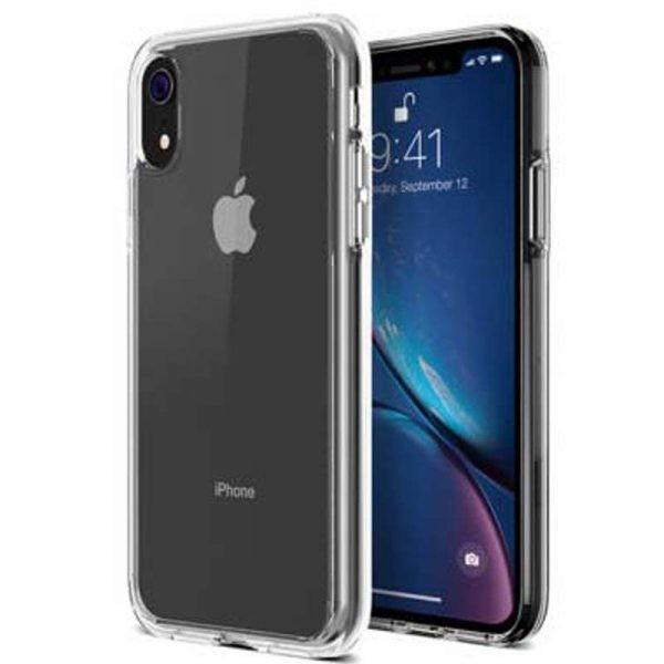 قاب محافظ شیشه ای- ژله ای اپل Belkin Transparent Case For Apple iPhone XR