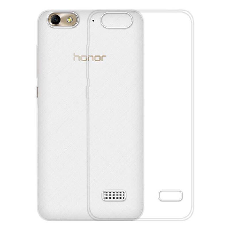 قاب محافظ شیشه ای- ژله ای هواوی Belkin Transparent Case For Huawei Honor 4C