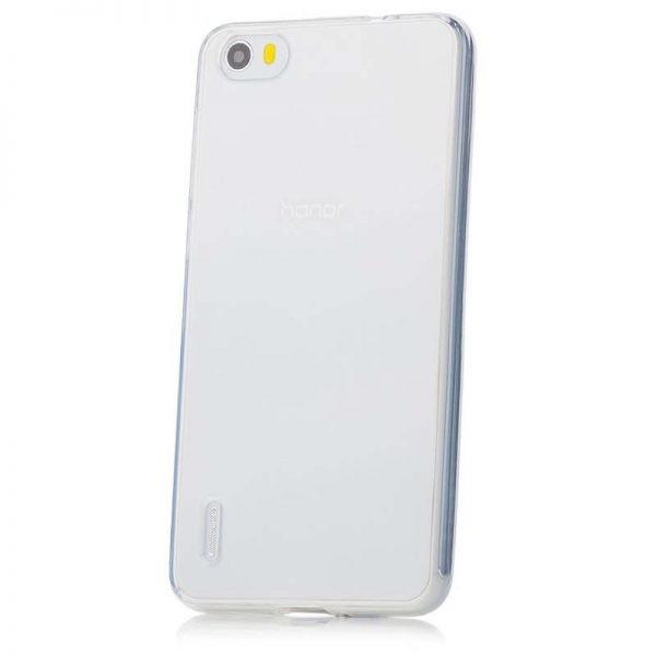 قاب محافظ شیشه ای- ژله ای هواوی Belkin Transparent Case For Huawei Honor 6