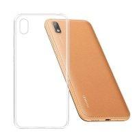 قاب محافظ شیشه ای- ژله ای هواوی Belkin Transparent Case For Huawei Y5 2019 Honor 8S