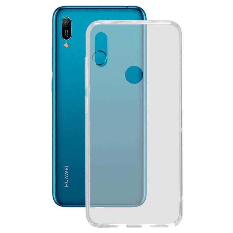 قاب محافظ شیشه ای- ژله ای هواوی Belkin Transparent Case For Huawei Y6 2019 Y6 Prime 2019