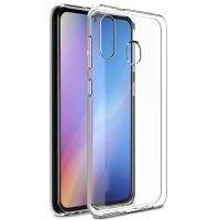 قاب محافظ شیشه ای- ژله ای سامسونگ Belkin Transparent Case For Samsung Galaxy A20e