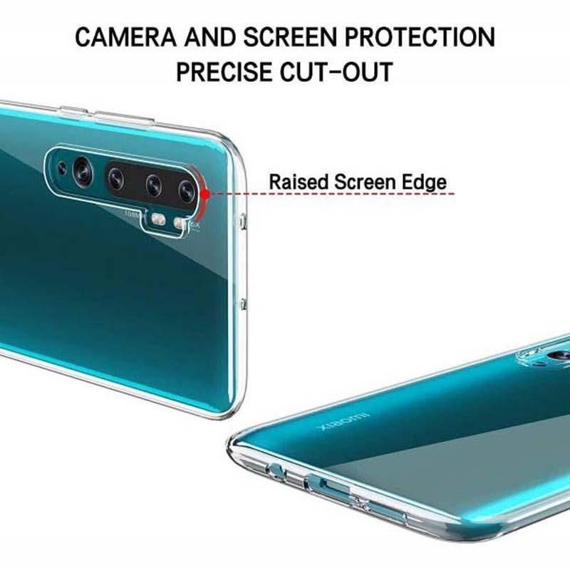 قاب محافظ شیشه ای- ژله ای شیائومی Belkin Transparent Case For Xiaomi Mi CC9 Pro Mi Note 10 Mi Note 10 Pro