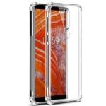 قاب محافظ ژله ای کپسول دار 5 گرمی نوکیا Clear Tpu Air Rubber Jelly Case For Nokia 3.1 Plus / Nokia X3