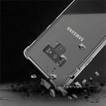 قاب محافظ ژله ای کپسول دار 5 گرمی سامسونگ Clear Tpu Air Rubber Jelly Case For Samsung Galaxy Note 9