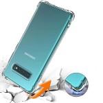 قاب محافظ ژله ای کپسول دار 5 گرمی سامسونگ Clear Tpu Air Rubber Jelly Case For Samsung Galaxy S10 Plus