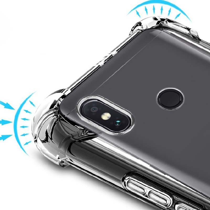 قاب محافظ ژله ای کپسول دار 5 گرمی شیائومی Clear Tpu Air Rubber Jelly Case For Xiaomi Mi 8