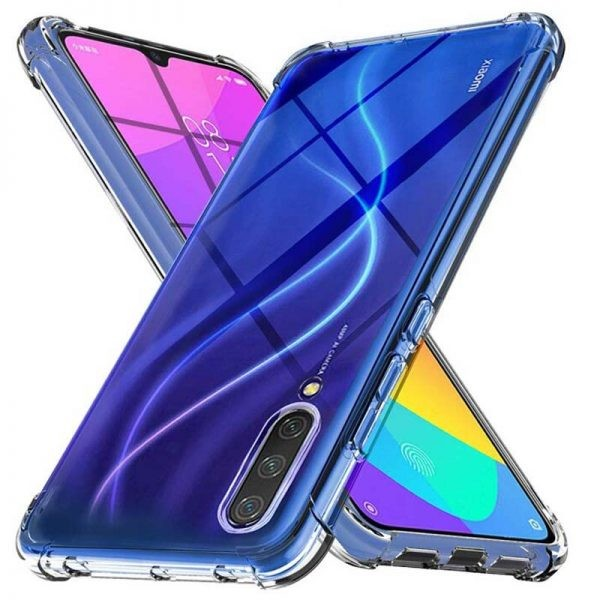 قاب محافظ ژله ای کپسول دار 5 گرمی شیائومی Clear Tpu Air Rubber Jelly Case For Xiaomi Mi 9 Lite / Mi CC9