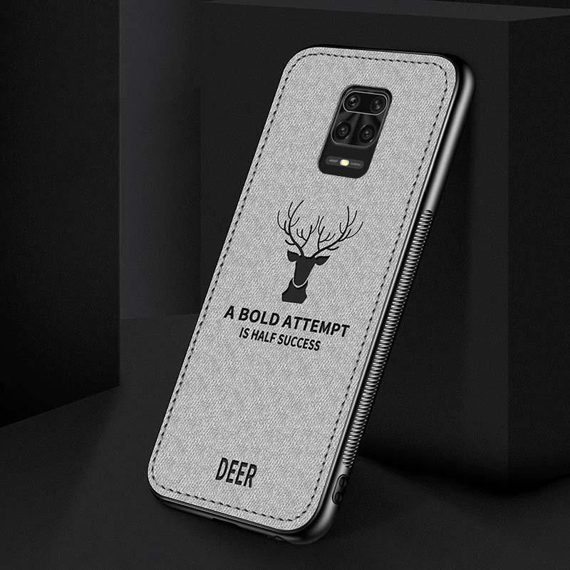قاب محافظ طرح گوزن شیائومی Deer Case For Xiaomi Redmi Note 9 Pro Note 9 Pro Max Note 9S