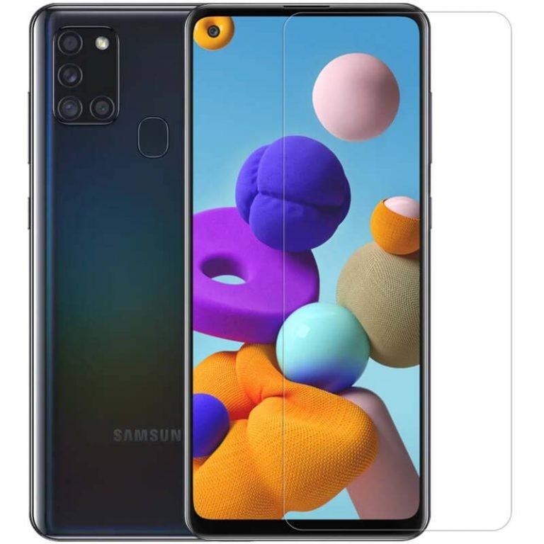 محافظ صفحه نمایش شیشه ای نیلکین سامسونگ Nillkin H+ Pro Glass Samsung Galaxy A21s