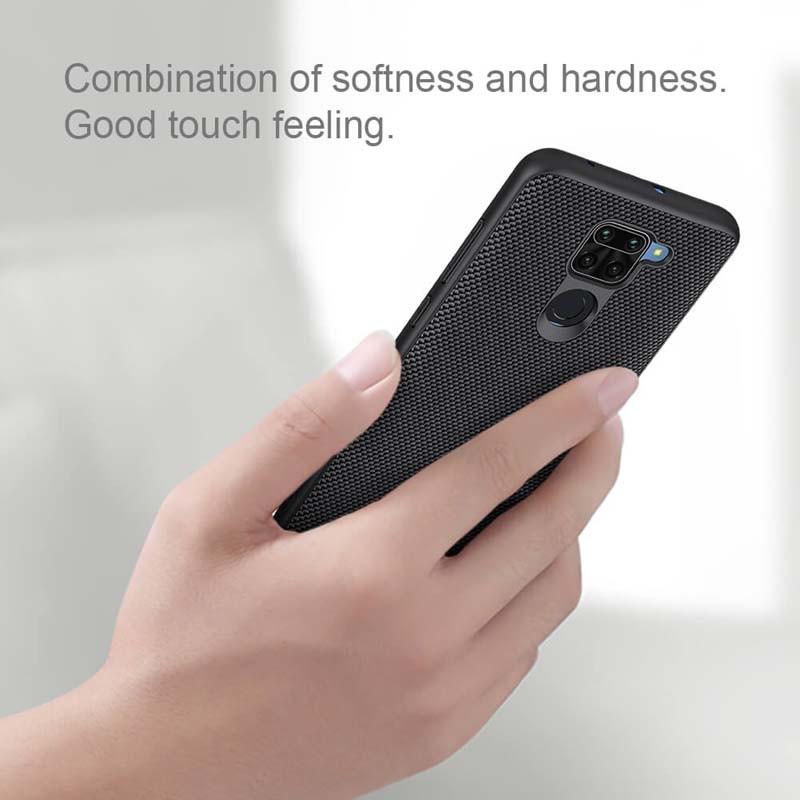 قاب محافظ نیلکین شیائومی Nillkin Textured nylon fiber Case Xiaomi Redmi Note 9 Redmi 10X 4G
