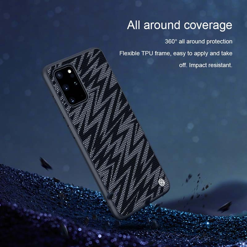قاب محافظ نیلکین سامسونگ Nillkin Twinkle Case For Samsung Galaxy S20 Plus