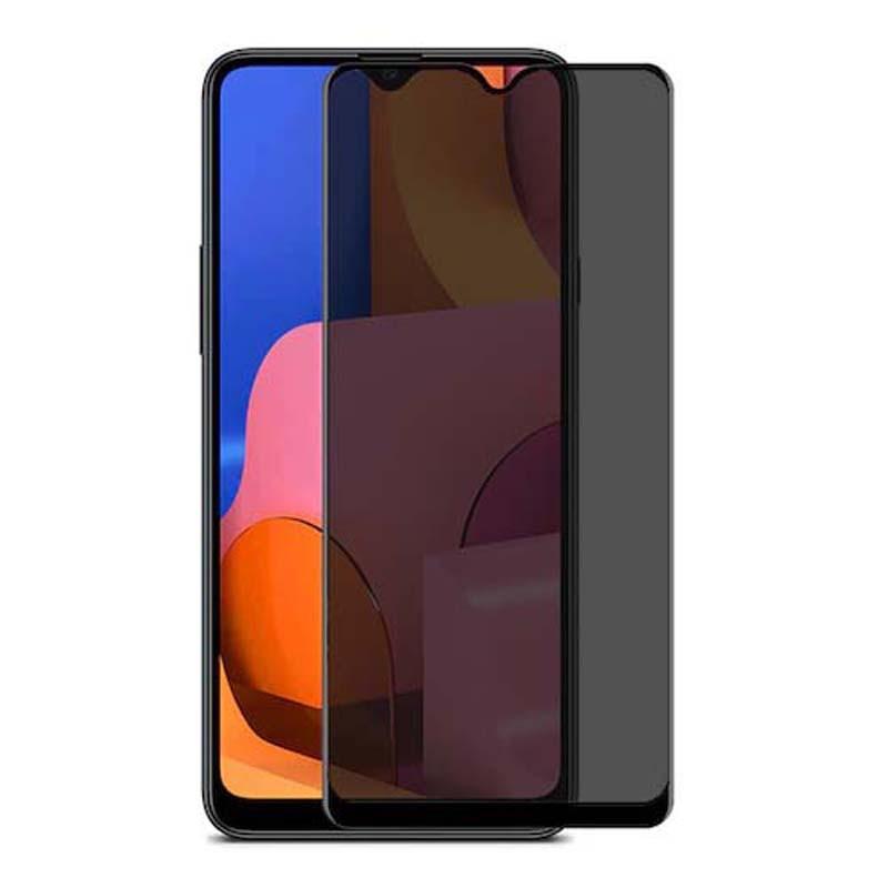 محافظ صفحه نمایش حریم شخصی تمام چسب با پوشش کامل سامسونگ Privacy Full Screen Protector For Samsung Galaxy A20s
