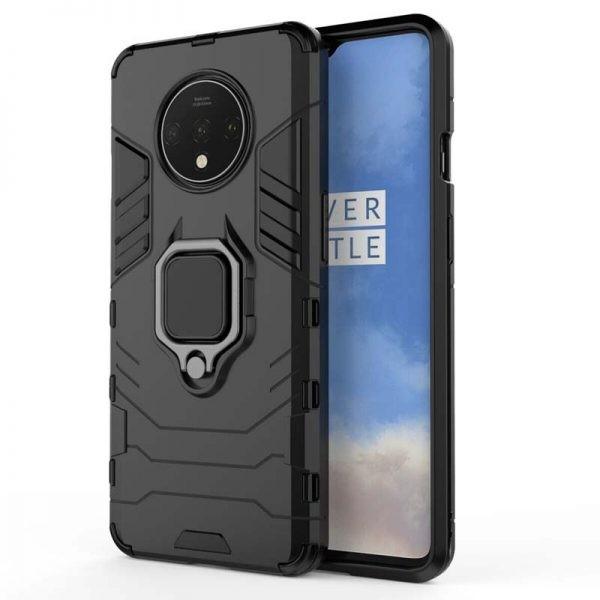 قاب محافظ ضد ضربه انگشتی وان پلاس Ring Holder Iron Man Armor Case OnePlus 7T