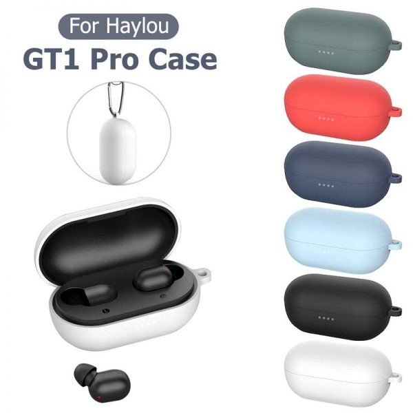 کاور محافظ سیلیکونی شیائومی Silicone Case For Xiaomi Haylou GT1 Pro